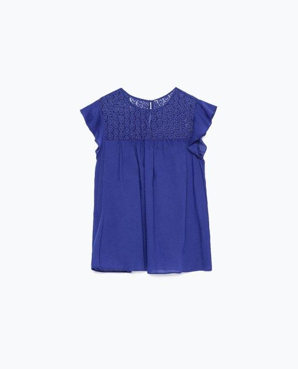 Look 2 - Top Zara