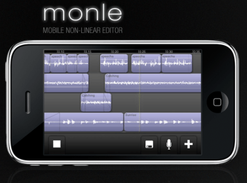 Monle_ a mobile non-linear editor for the iPhone and iPod touch