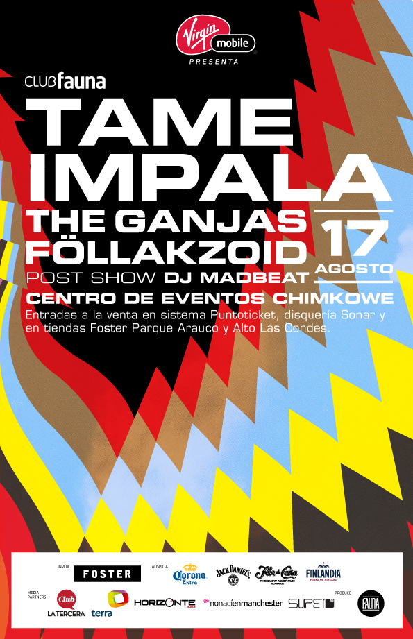 tame impala ok copia Club fauna presenta: Tame Impala