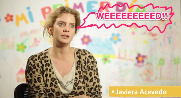 weed Exclusiva: Javiera Acevedo y su video pro marihuana.