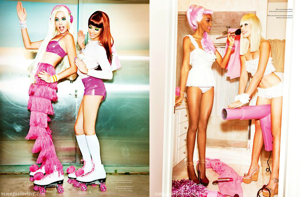 barbie ken party by ellen von unwerth vs magazine 03 Barby Party para Vs Magazine
