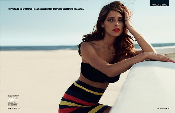 ashley greene4 Ashley Greene X GQ UK
