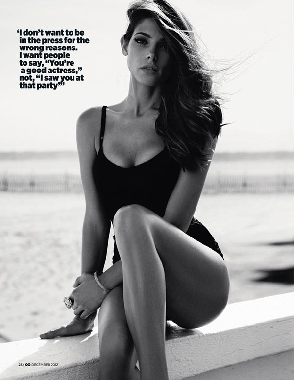 ashley greene5 Ashley Greene X GQ UK