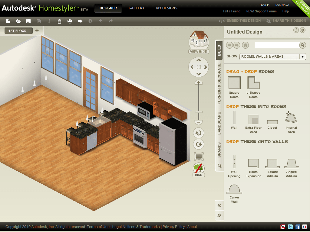 Homestyler Free Kitchen Design Software Top 15 Virtual Room Software Tools And Programs Pouted