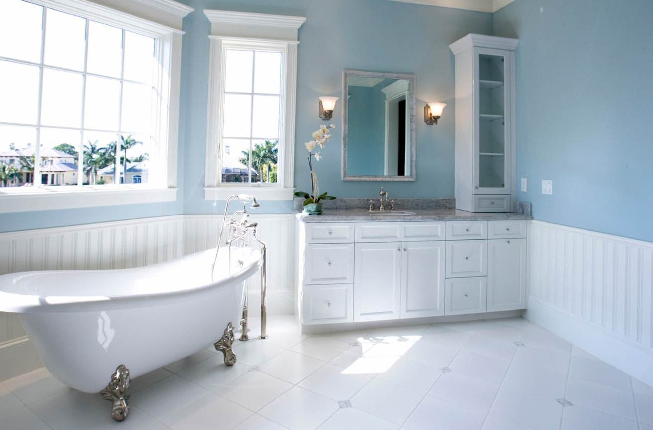 Get Inspired For Light Blue Bathroom Colors Photos Decor And Ideas