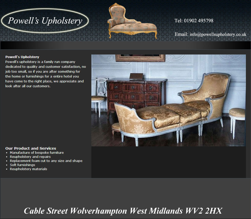 Furniture Reupholstery Near Me Uk Powell S Upholstery