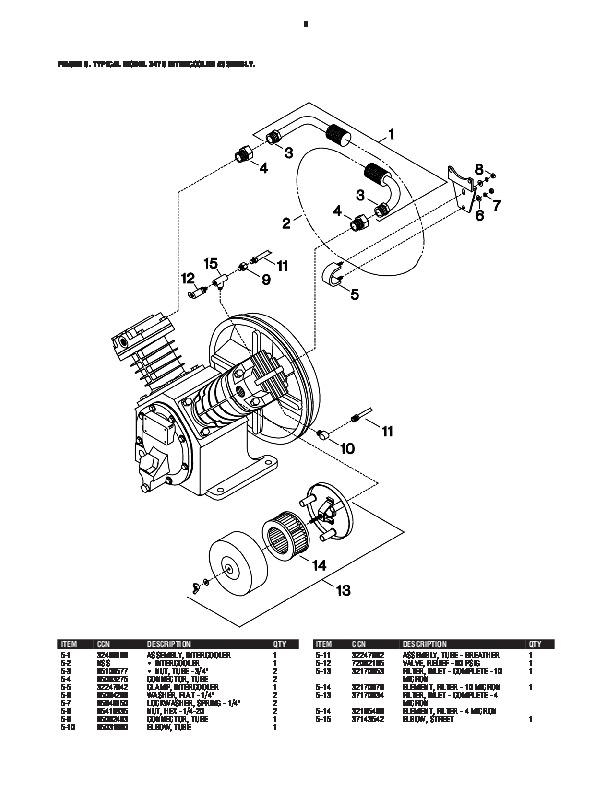 ingersoll rand compressor diagrama de cableado