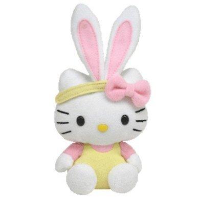 couldn   t resist this cute Hello Kitty Easter Bunny from Ty  I know 9vbrlIZ5