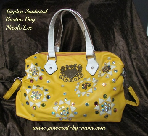 Tayden Sunburst Boston Handbag