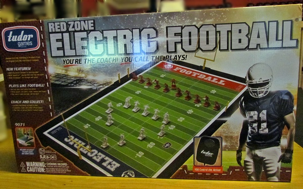 tudor electric football