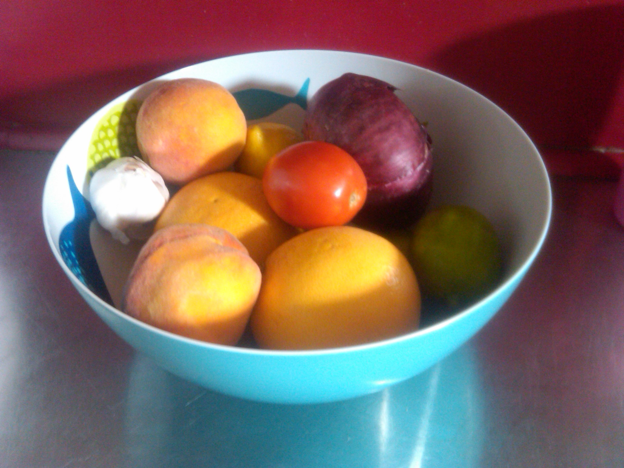 Beautiful Fruit Bowls One Week Post Move My Refrigerator Powered By Oatmeal