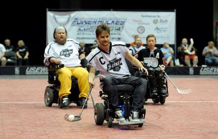 Chad Wilson - 2014 Powerhockey Cup
