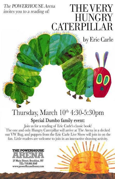 Kids Book Event The Very Hungry Caterpillar with a special visit