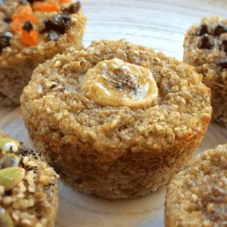 banana quinoa muffins 1