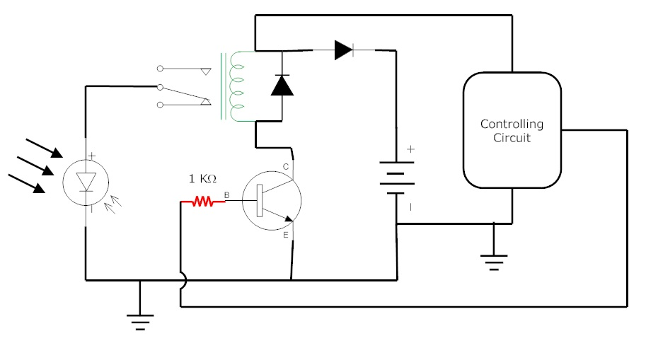 pv cell circuit diagram