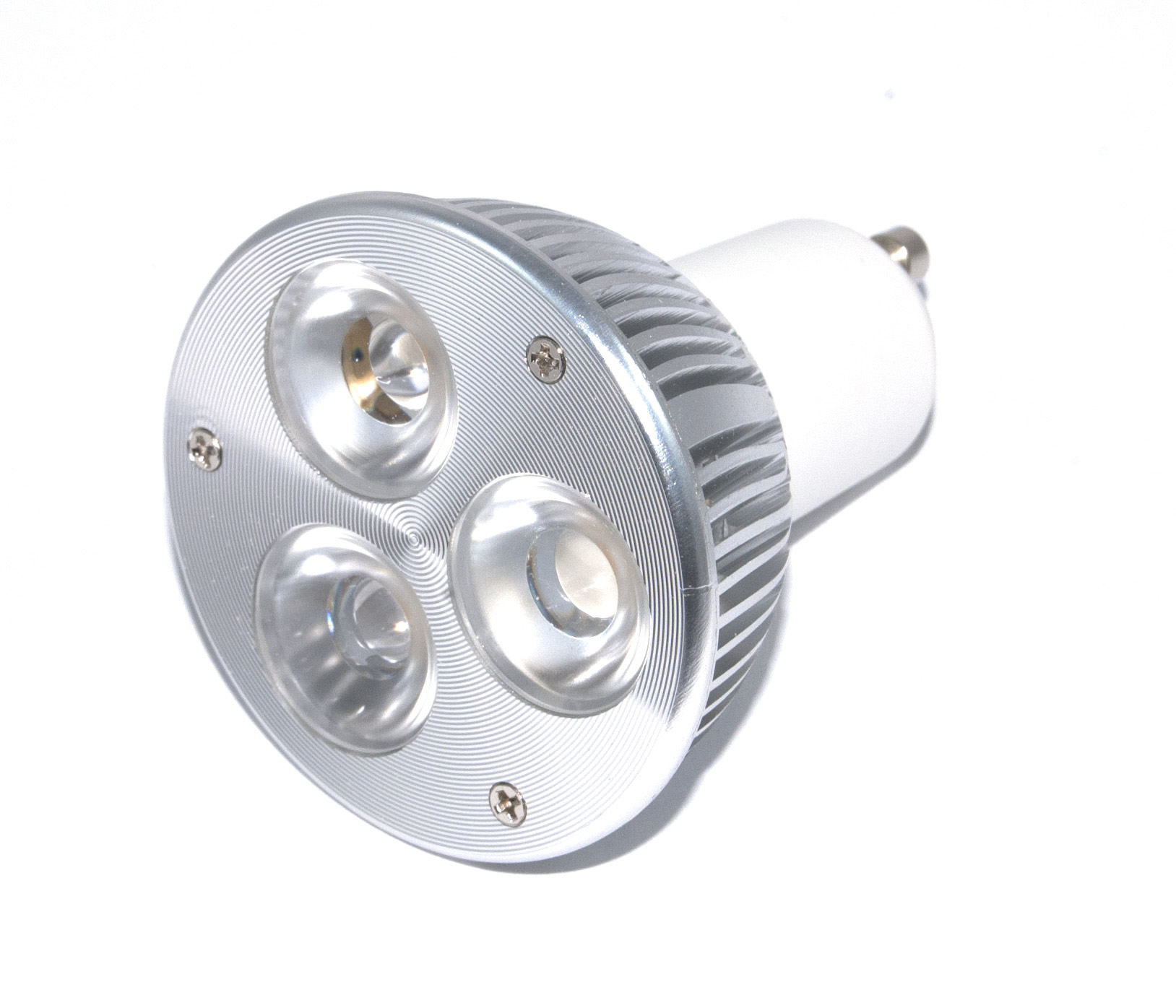 Lampen Led Spot Gu10 Powerled Cree Dimbare 3x2w Power Led Spot 6 Watt Warm Wit