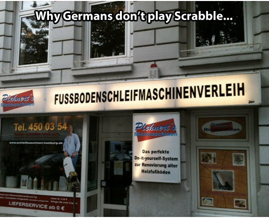 German Scrabble copy