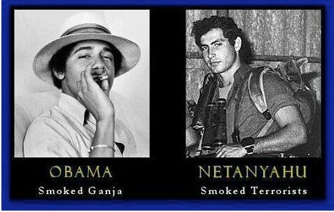 Obama v Netanyahu copy