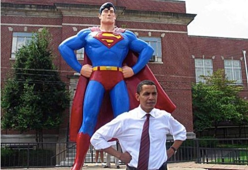 One is a person who lives in a fantasy world and thinks he has super powers.  The other person is Superman.