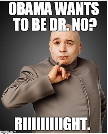 Dr Evil on Obama copy