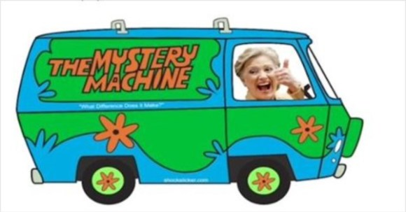 Hillary Scoobue Van copy