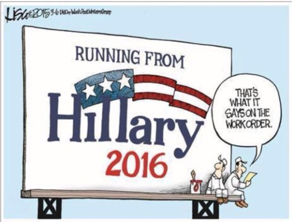 Running from Hillary copy