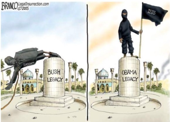 Bush v Obama Lehacy copy