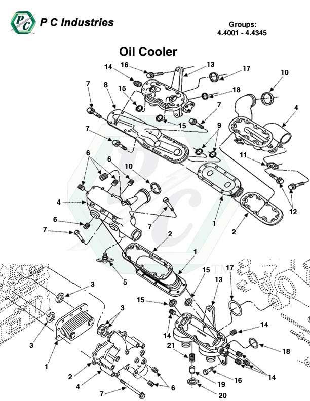 engine fuel filter part number