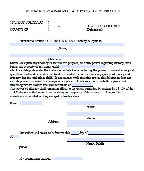 Medical Proxy Form General Power Of Attorneyona Forms Medical - sample advance directive form