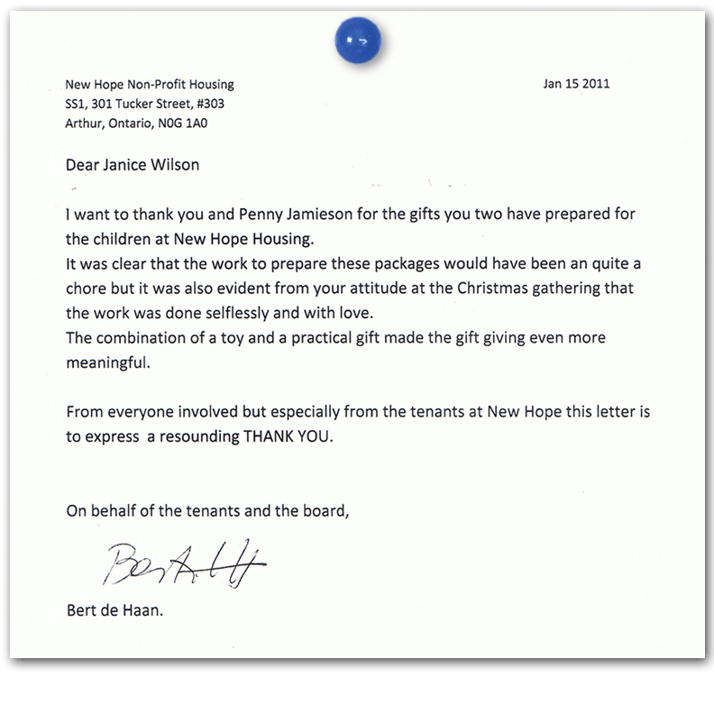 Sample Letter For Non Profit Donation | Jobs Franks International
