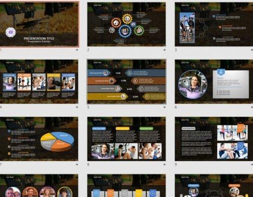 Autumn PowerPoint - Free Autumn PowerPoint Templates SageFox Free