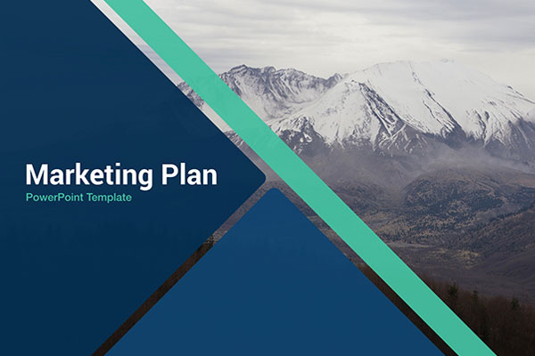 Marketing Plan Free Powerpoint Template - Powerpointify
