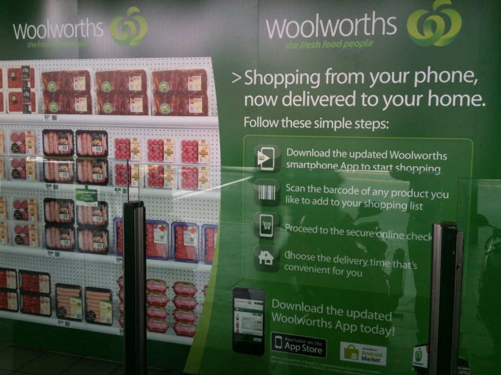 Woolworths Delivery Time Woolworths Launches Virtual Supermarket