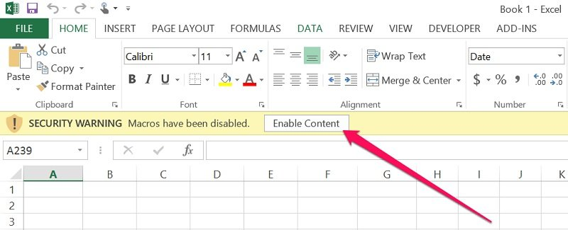 How To Enable Macros In Excel Step-By-Step Guide For 3 Scenarios