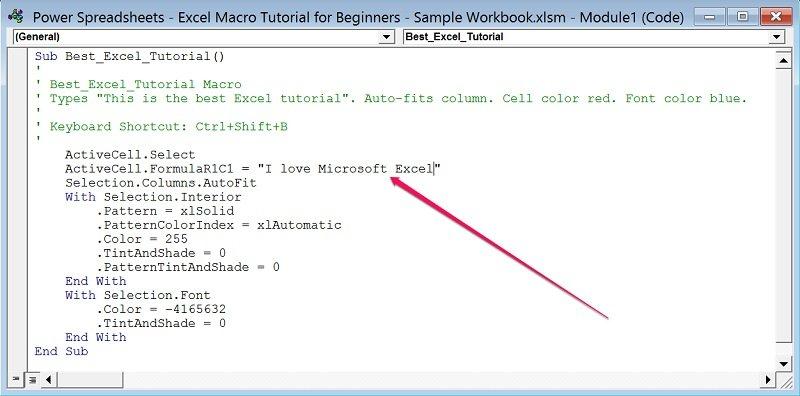 Excel Macro Tutorial for Beginners Create Macros In 7 Easy Steps