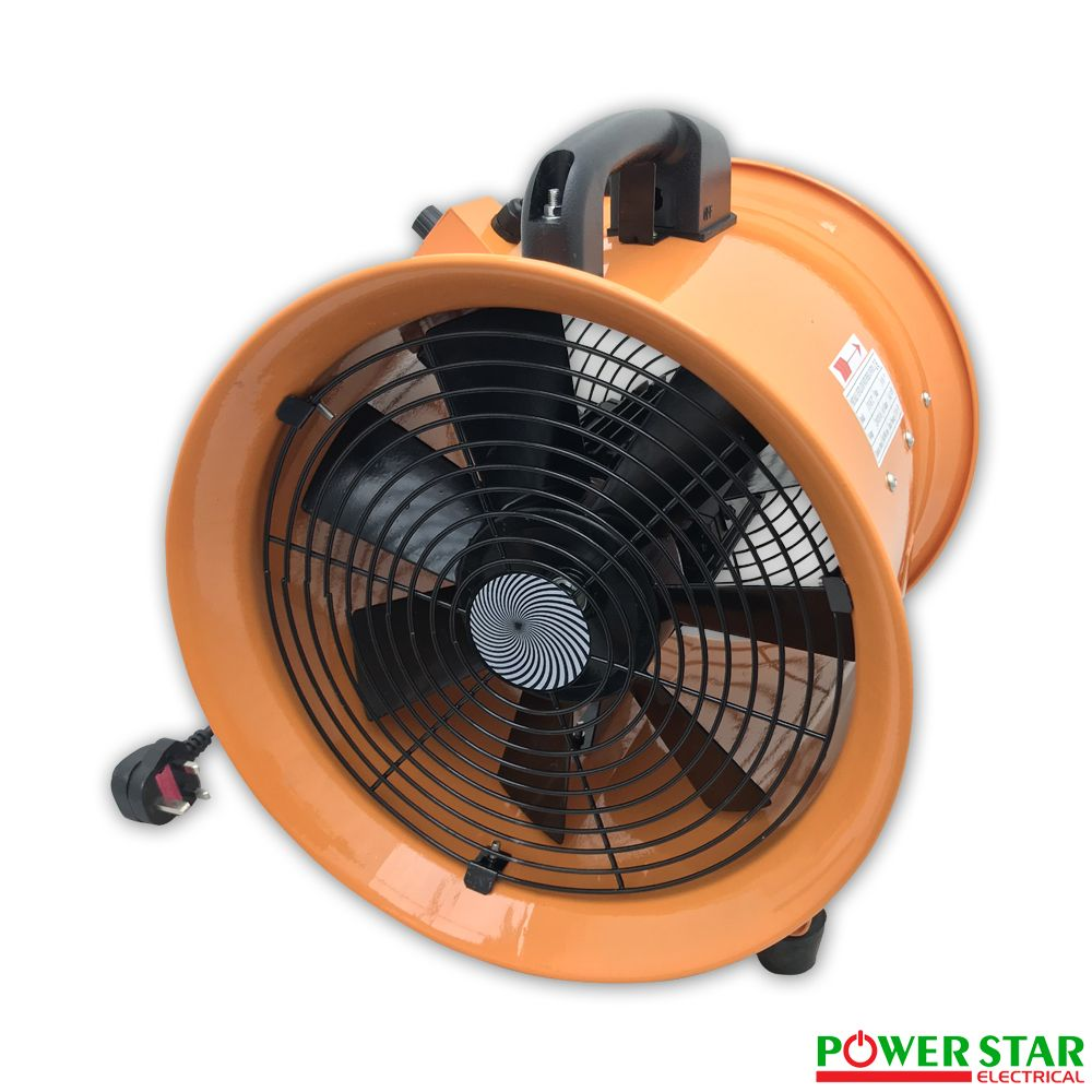 Portable Extractor Fan Portable Ventilator Axial Blower Workshop Extractor Fan With Speed Controller