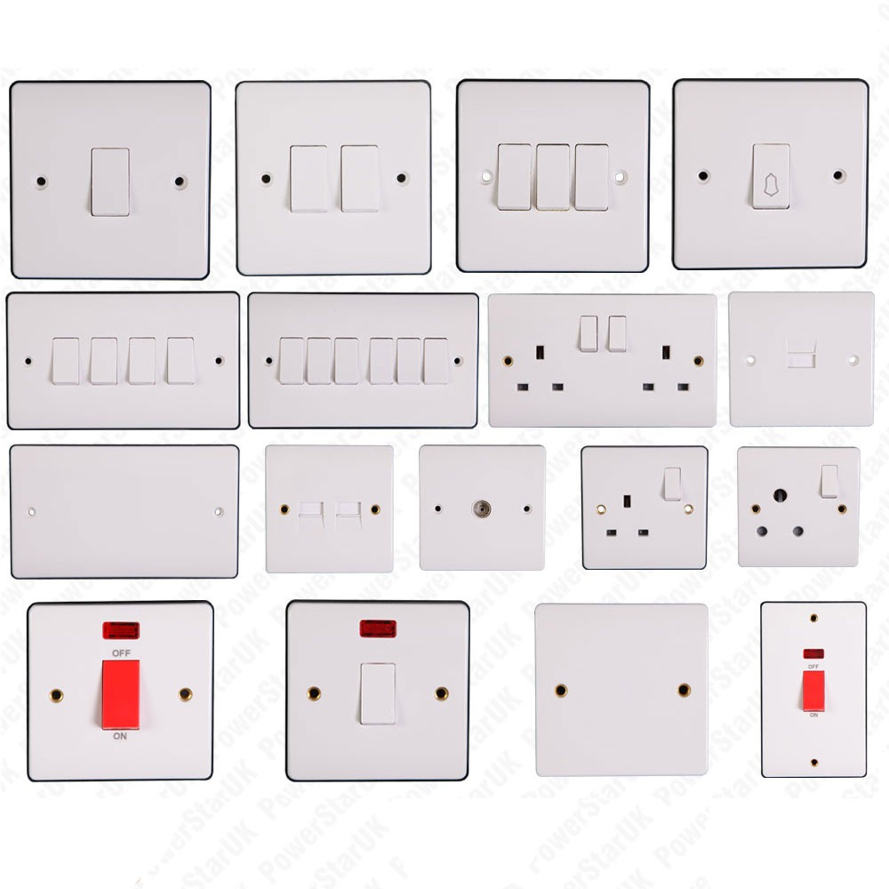 Electric Switches For Home 16126code Auto Electrical Wiring Tomar Heliobe Light Bar Wire Diagram Switch Socket U0026 Wall Sockets