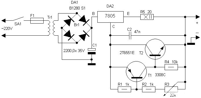 solar cell battery charger circuit diagram