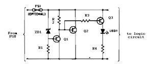 Logic overvoltage protection