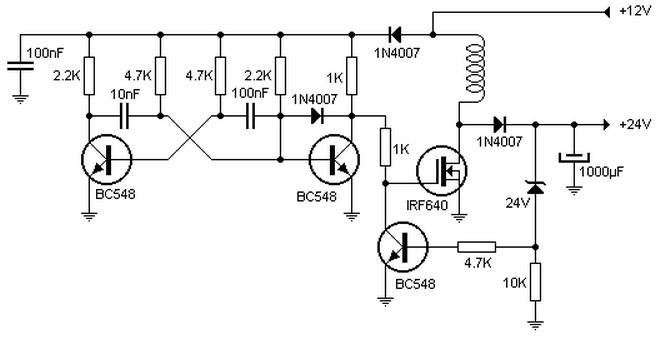 24 to 12 volt converter wiring diagram