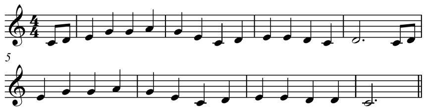 'Oh,_Susanna'_pentatonic_melody