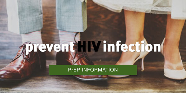 prevent HIV infection - find out about PrEP here