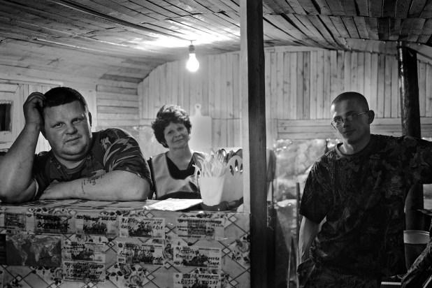Lost bar in Taiga, Oymyakon, Yakutia, Siberia, Russia