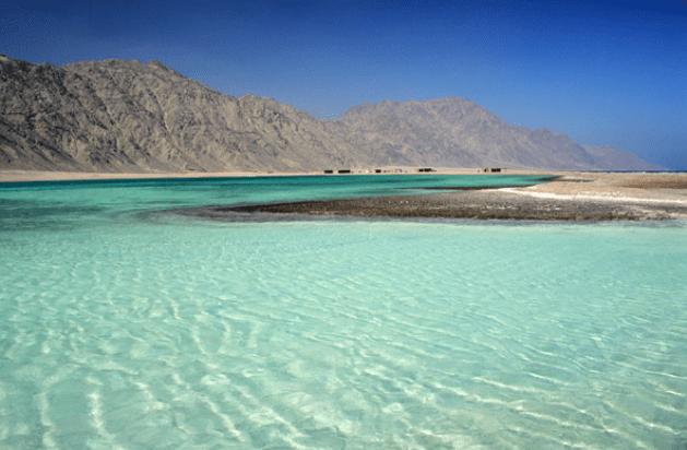 Национальный заповедник Рас-Абу-Галун - южная часть Синайского полуострова