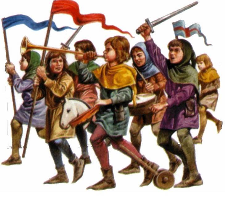 Крестовый поход детей.