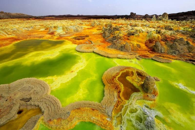 Desert Danakil Ethiopia