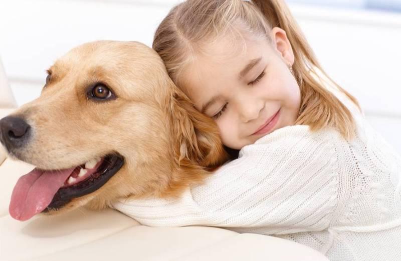 Малыш и собака фото
