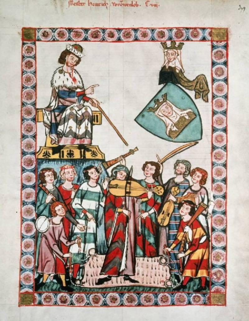Полоска Средние века