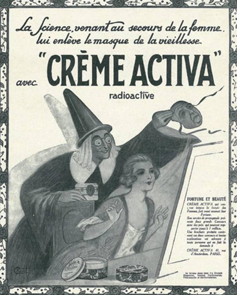Реклама прошлого косметика