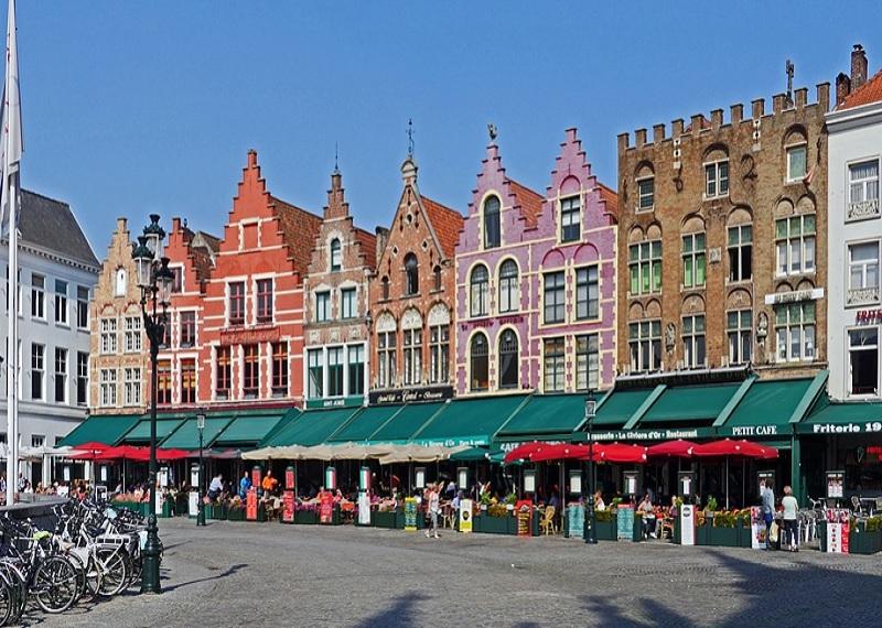 Гроте маркт, Брюгге, Бельгия